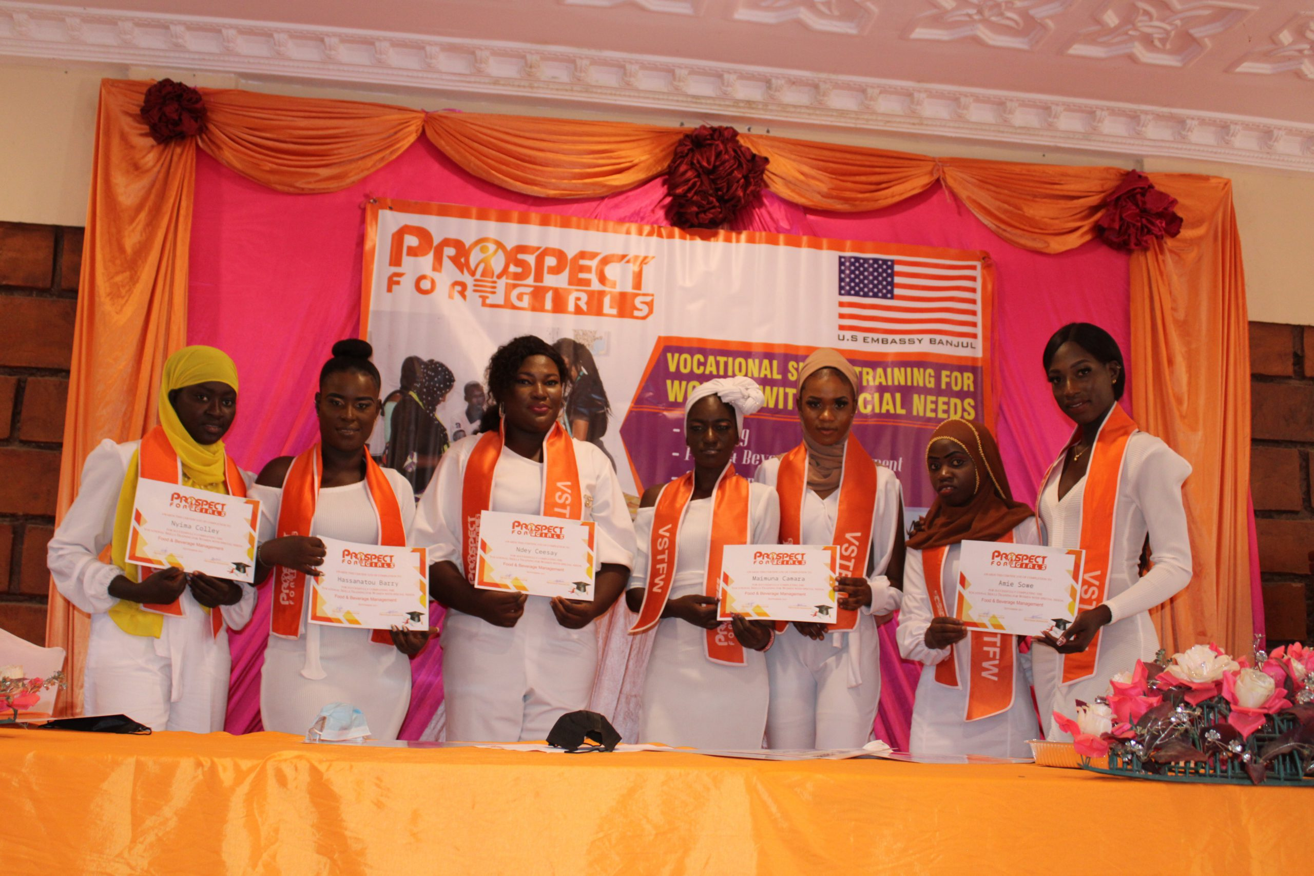 PfG Graduates Second Cohort Of Vocational Skills Training For Women With Disabilities